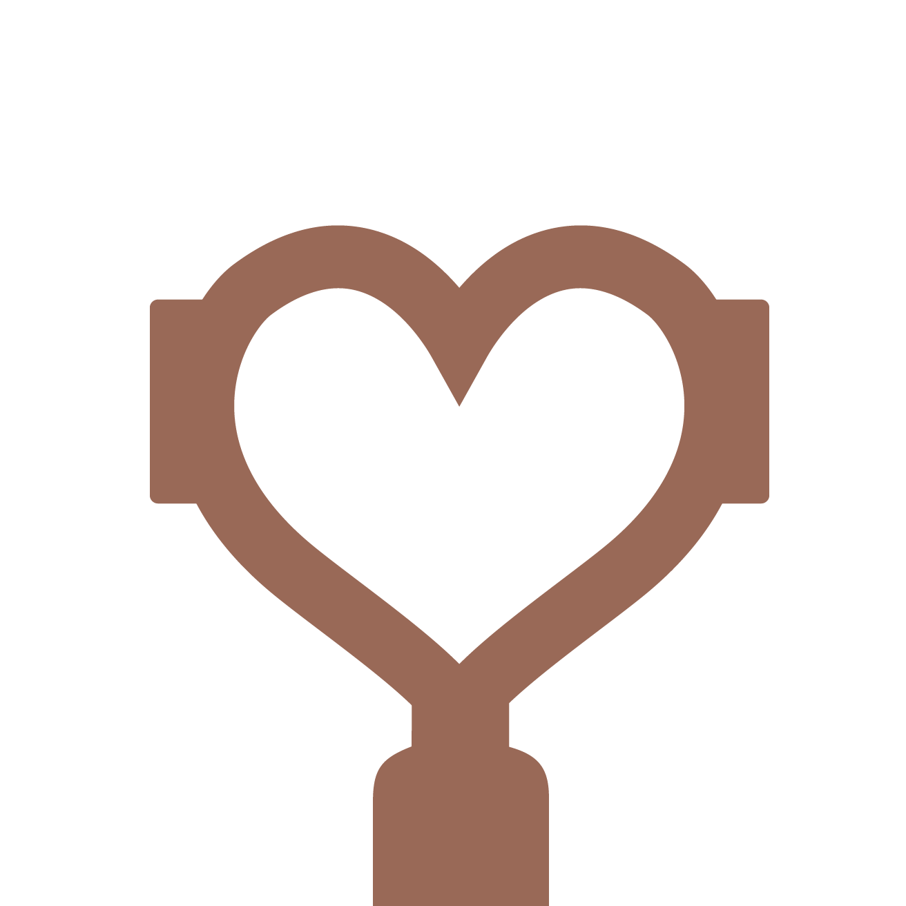 ECM Olive Wood handle set with rotary valves