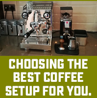 Choose the best coffee setup for home