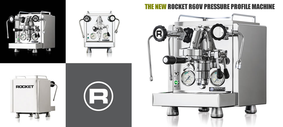 Rocket Espresso R60V Pressure Profile Machine