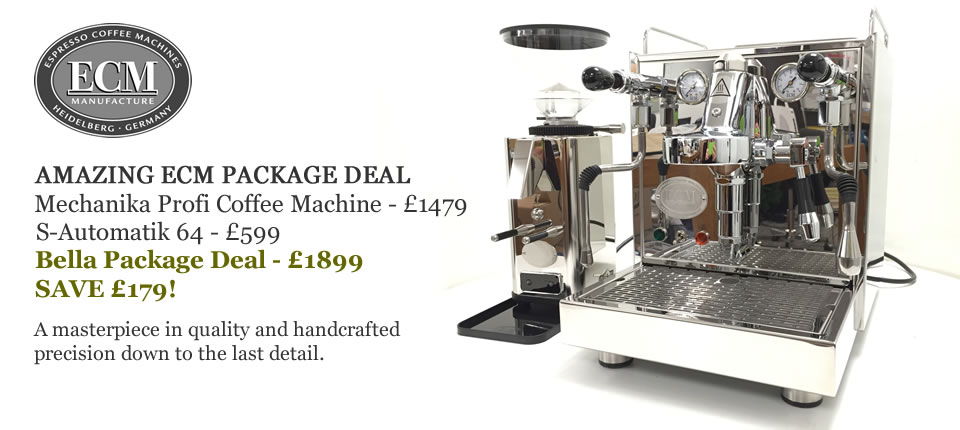 Bella Barista's NEW ECM Package Deal