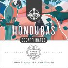 Honduras Decaf Single Origin Arabica Coffee. Organic Swiss Water Process