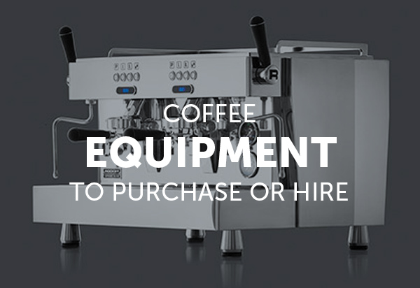 Commercial Coffee Machines, Grinders and Brew Equipment available.